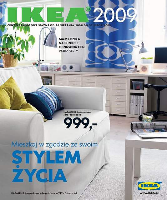 Nowy katalog IKEA 2009